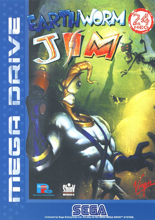 Earthworm Jim original cover