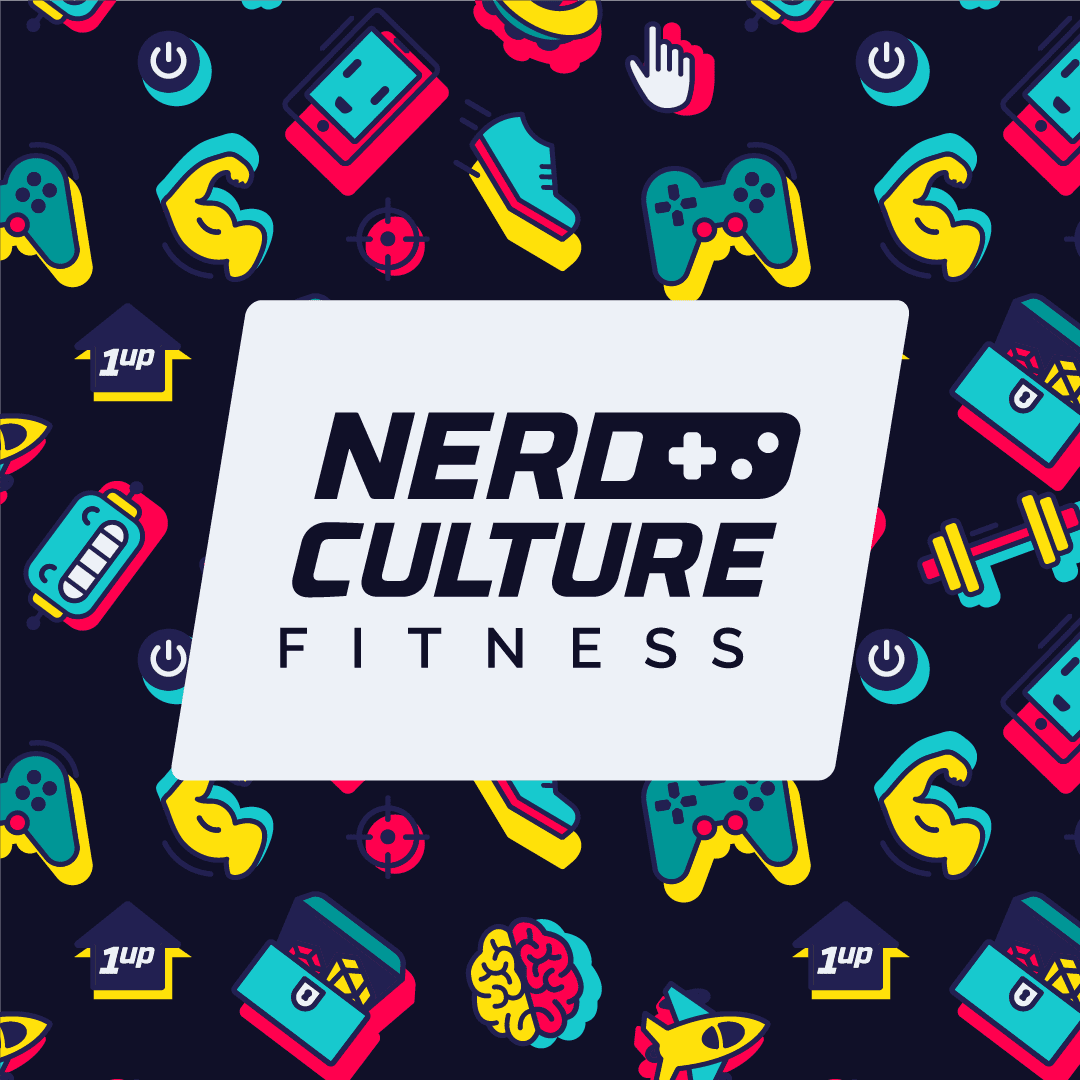 Nerd Culture Fitness logo dark