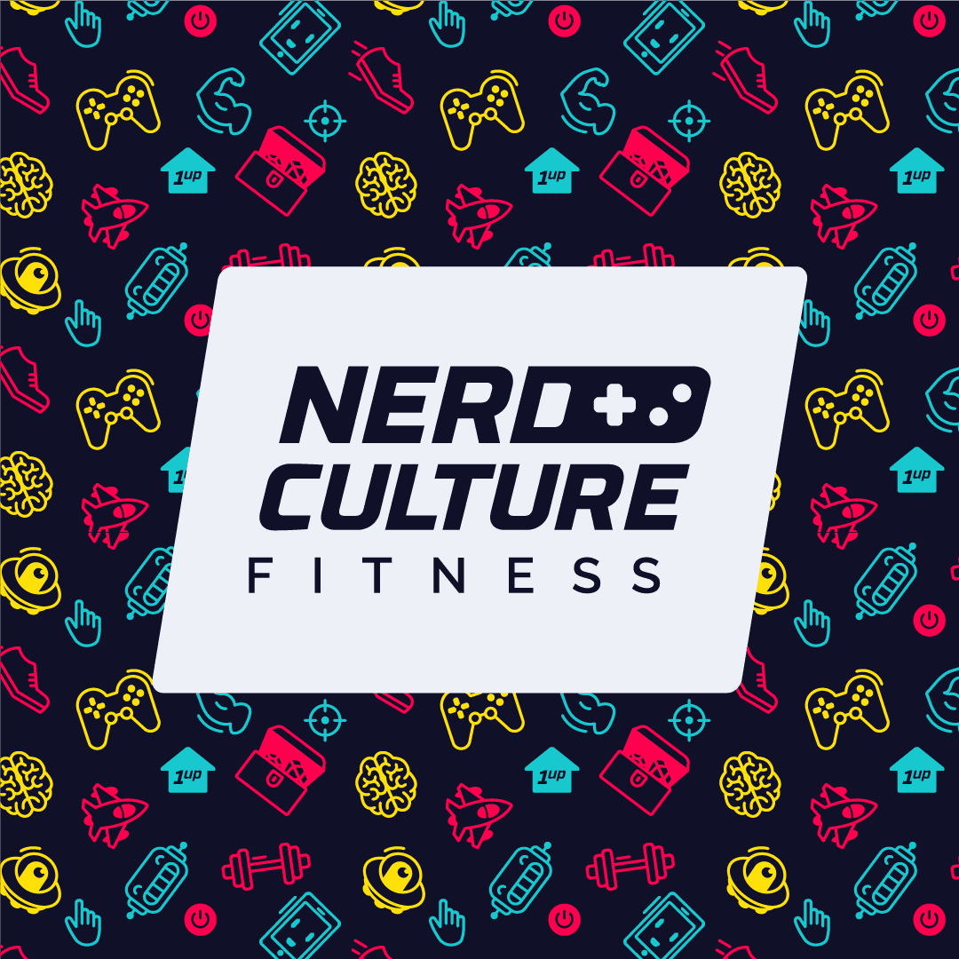 Nerd Culture Fitness logo colour