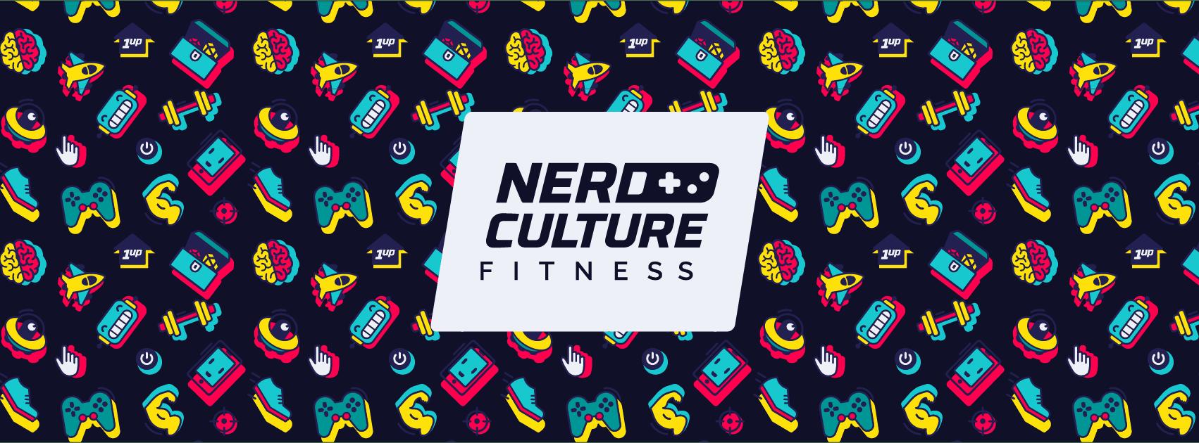 Nerd Culture Fitness branding
