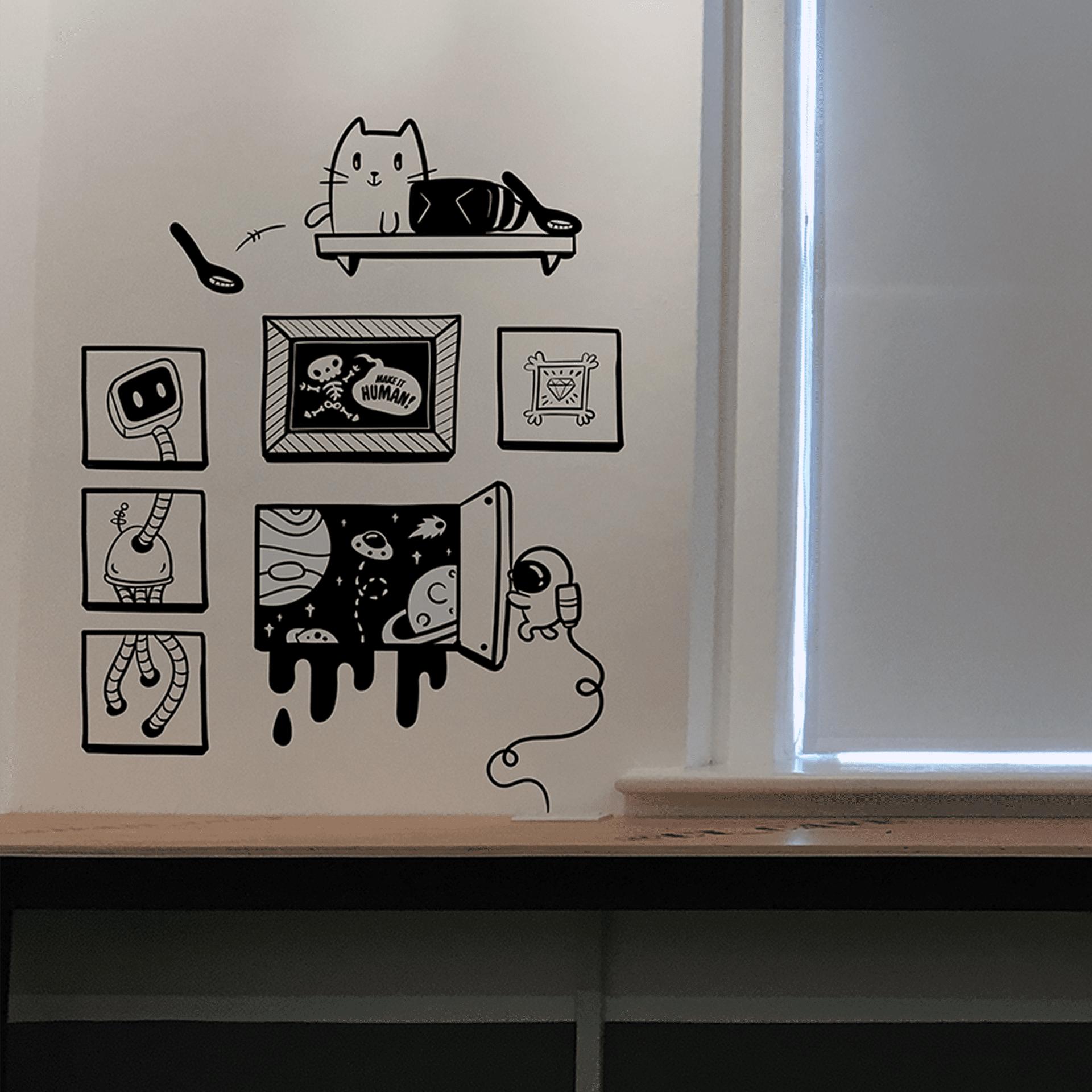 CI mural design