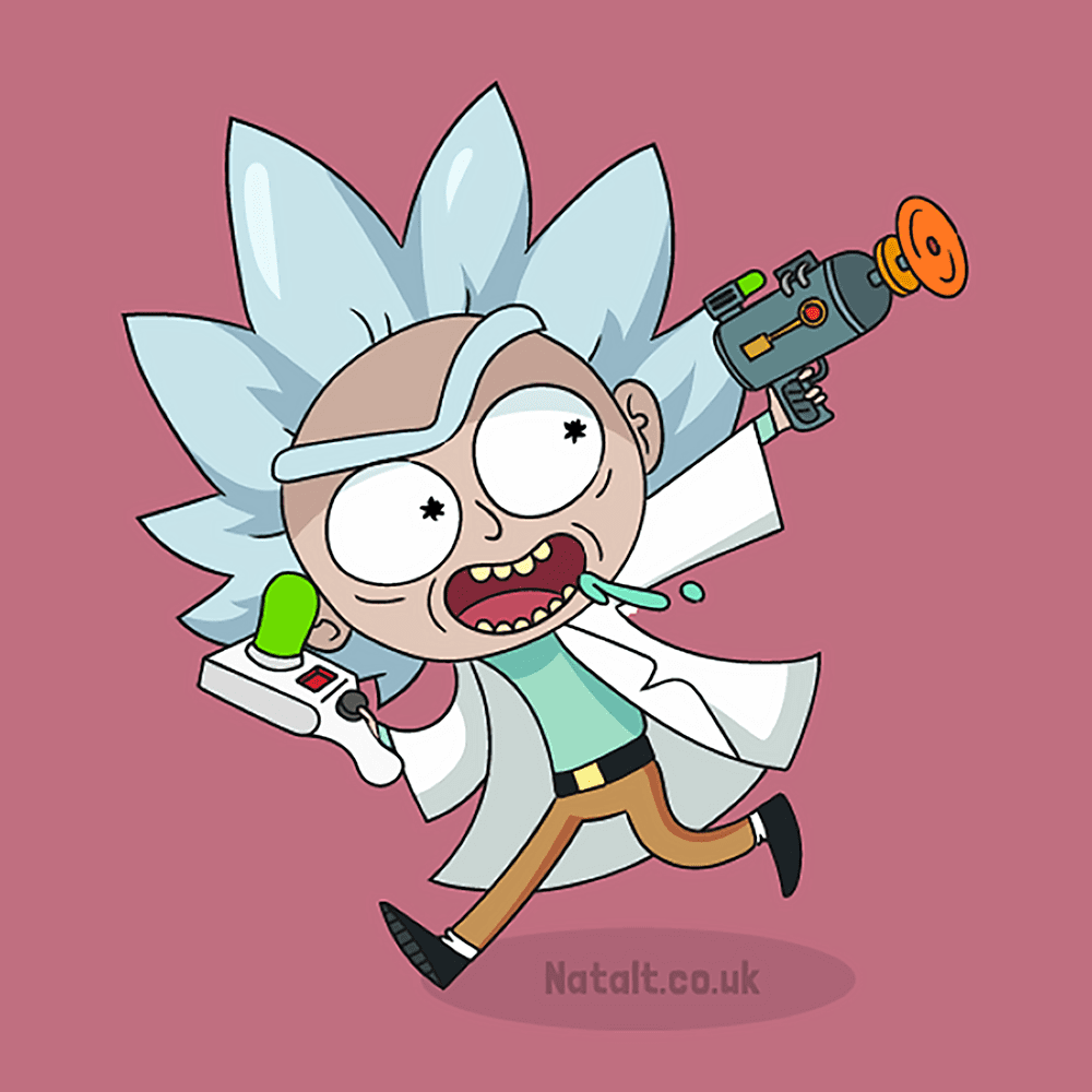 Rick and Morty Tiny Rick