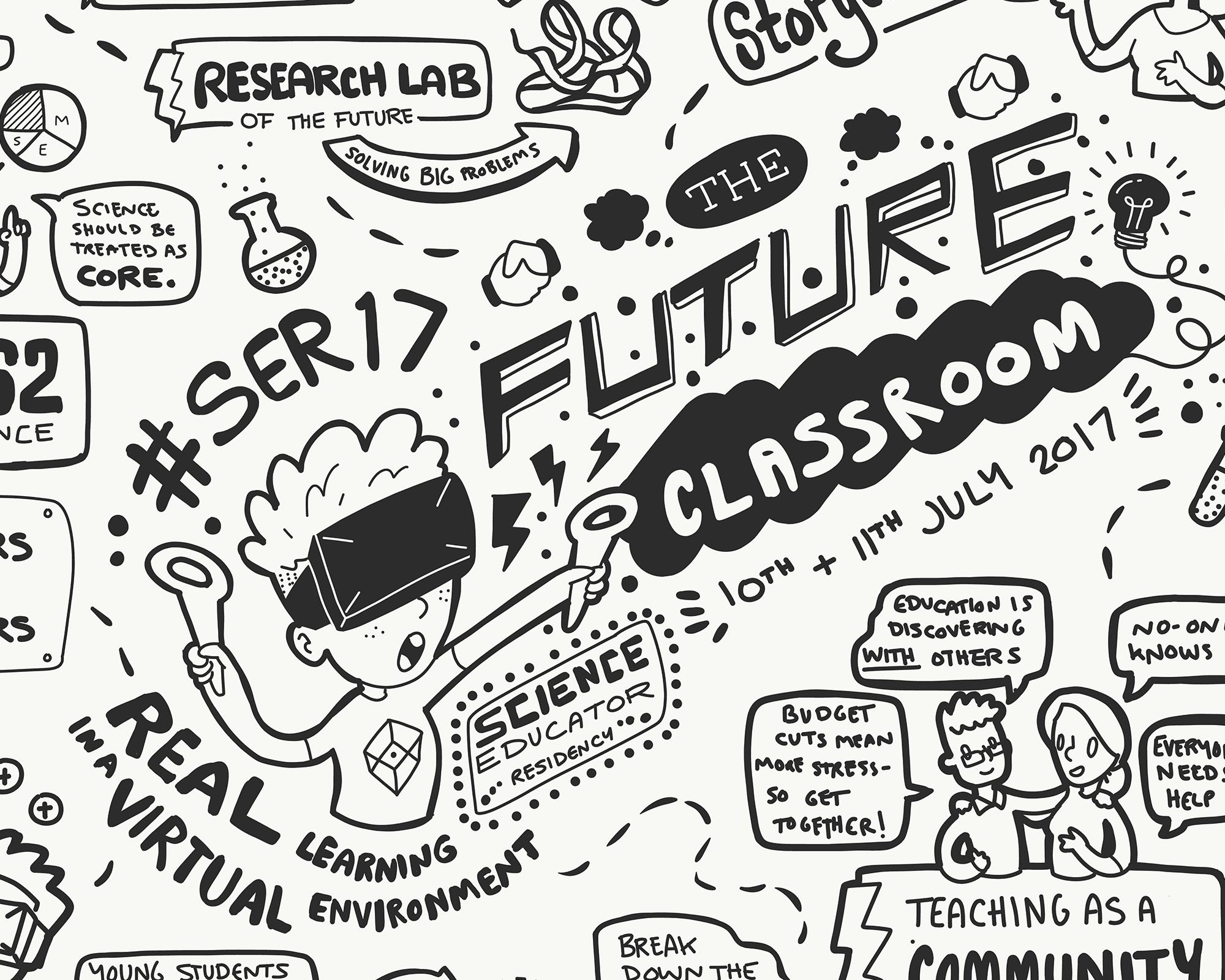 Science Educator Residency 2017 sketchnotes