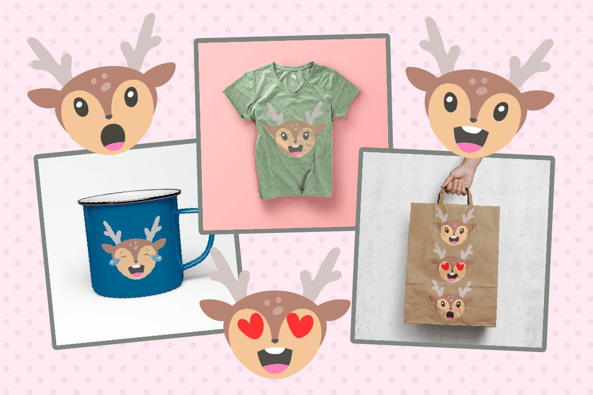 Deer emoji