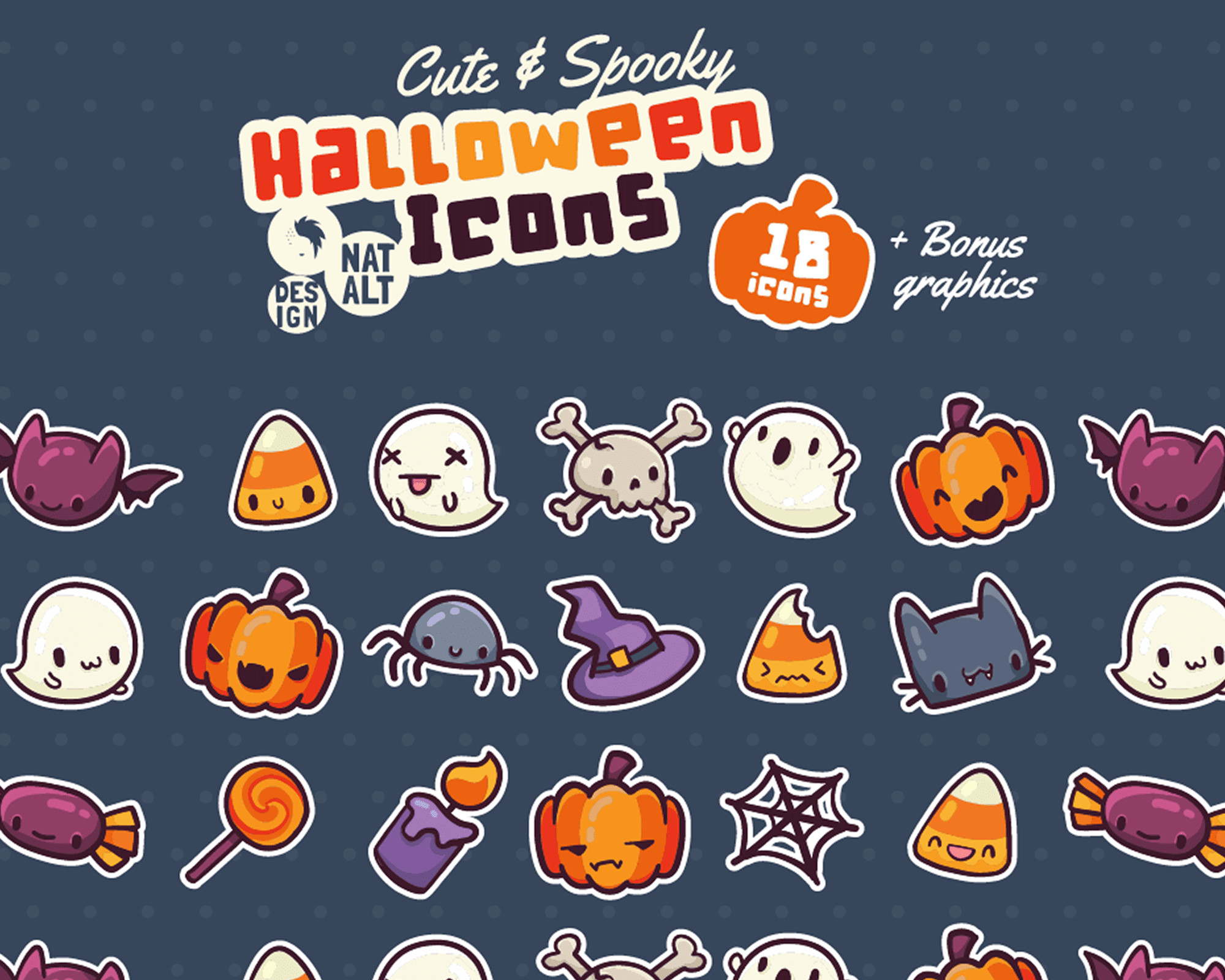 Halloween icons featured image