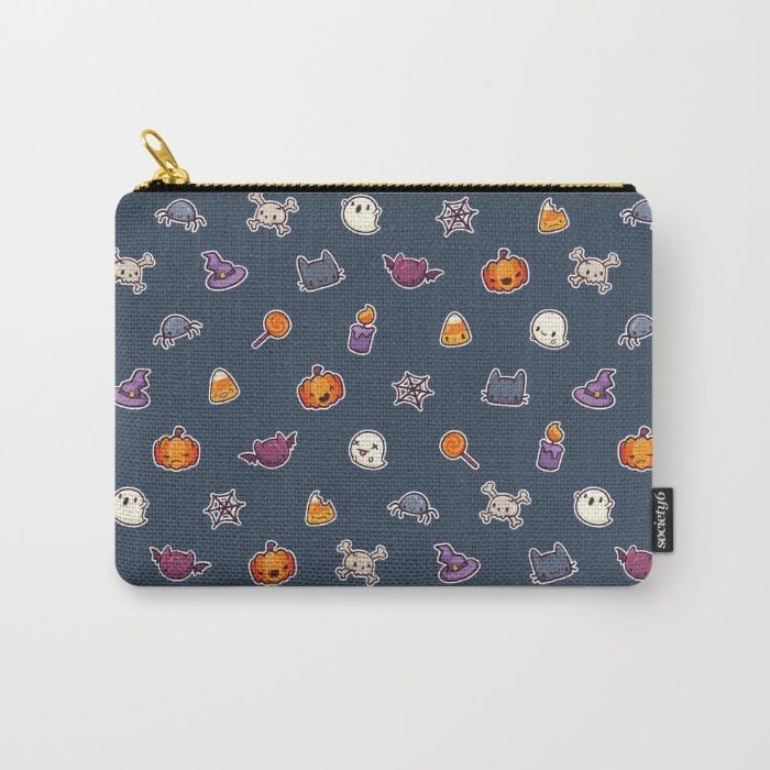 Halloween icons pouch