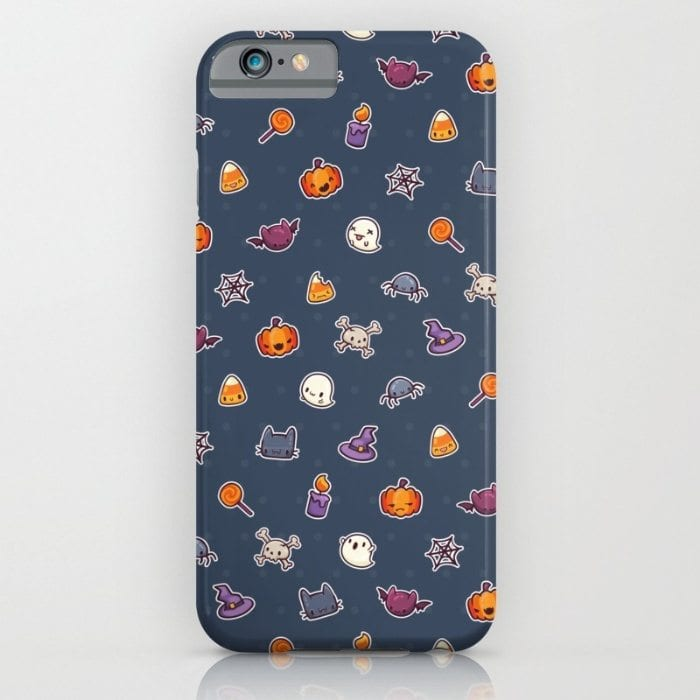 Halloween icons phone case