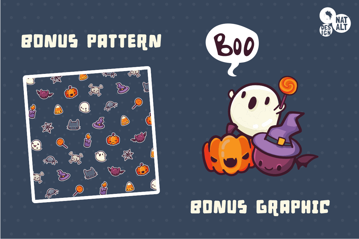 Halloween icons on Creative Market