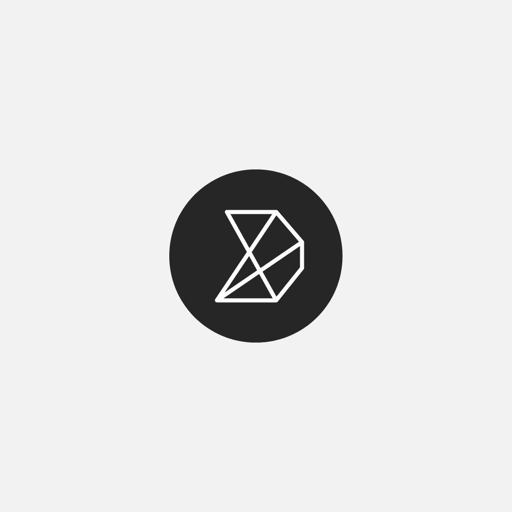 Do Company badge logo on light