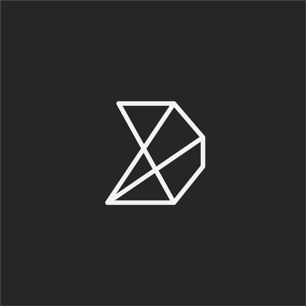 Do Company emblem logo on grey