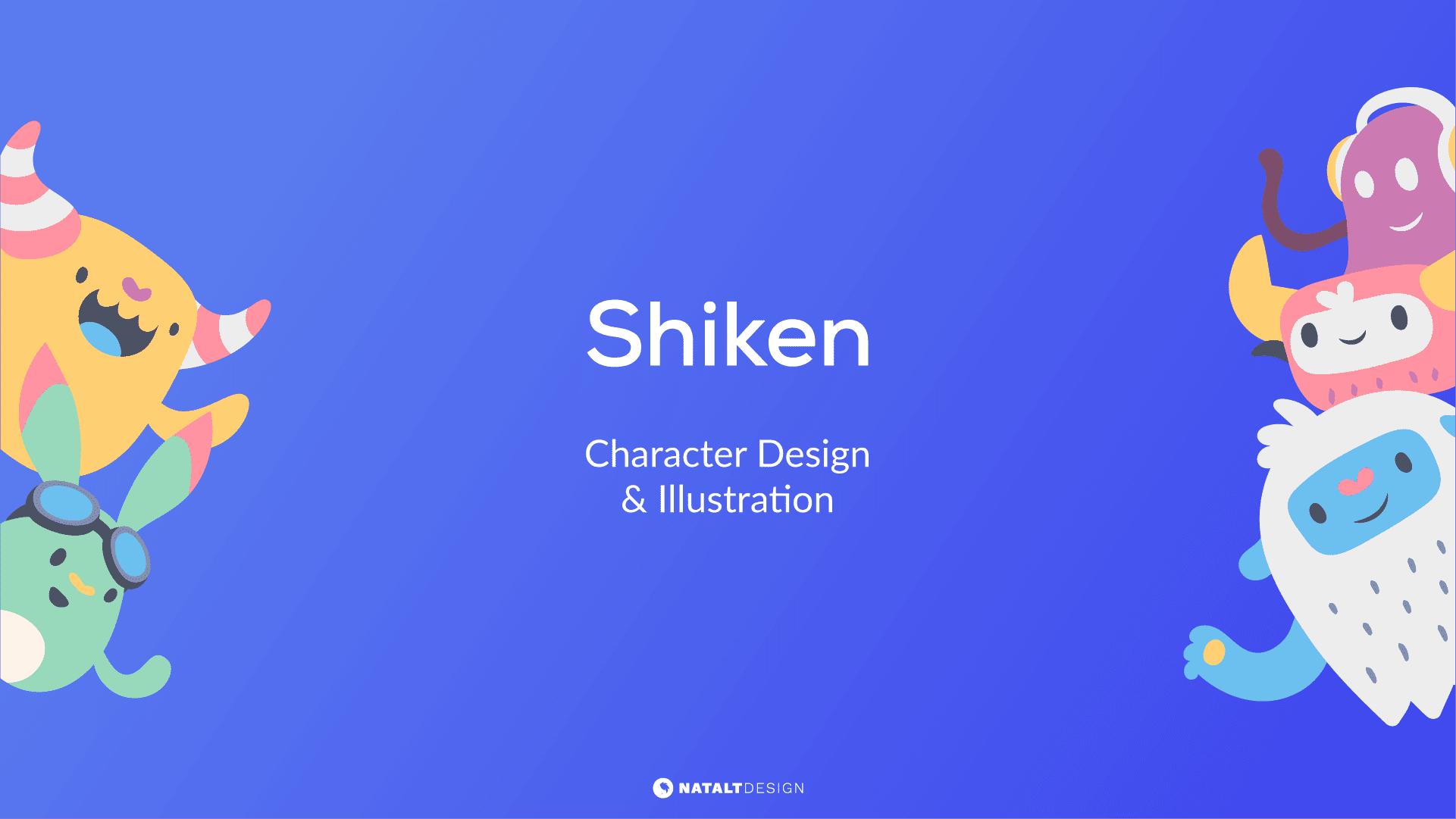 Shiken character design header