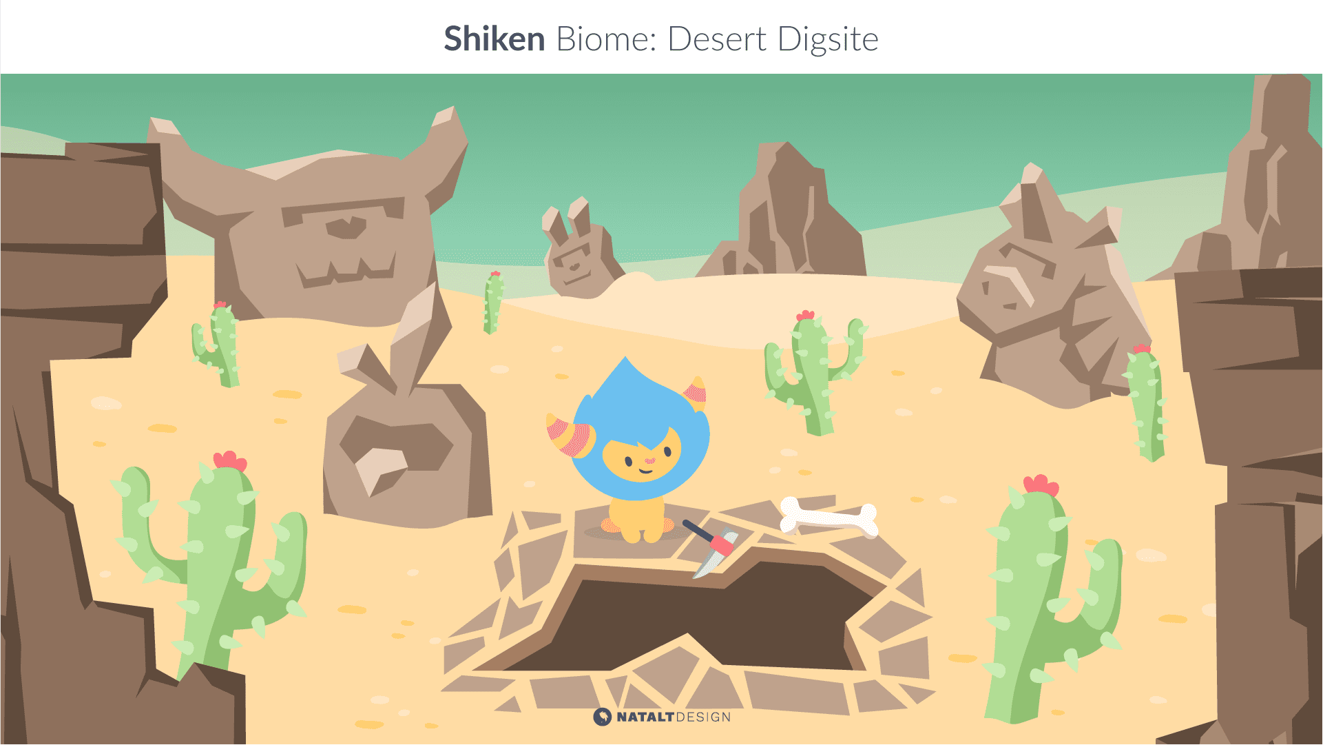 Shiken biome design