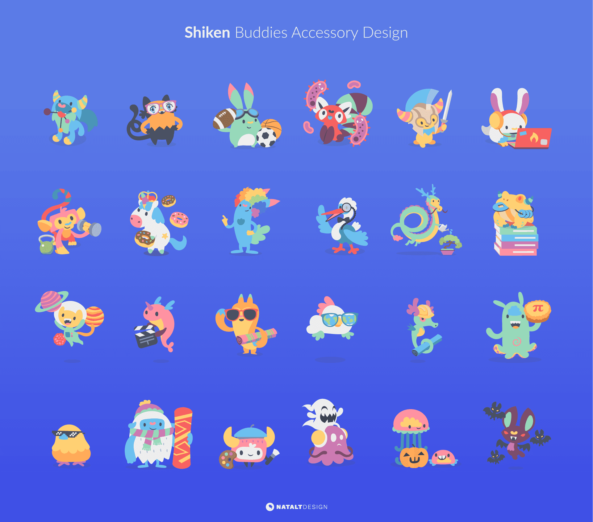 Shiken accessories design