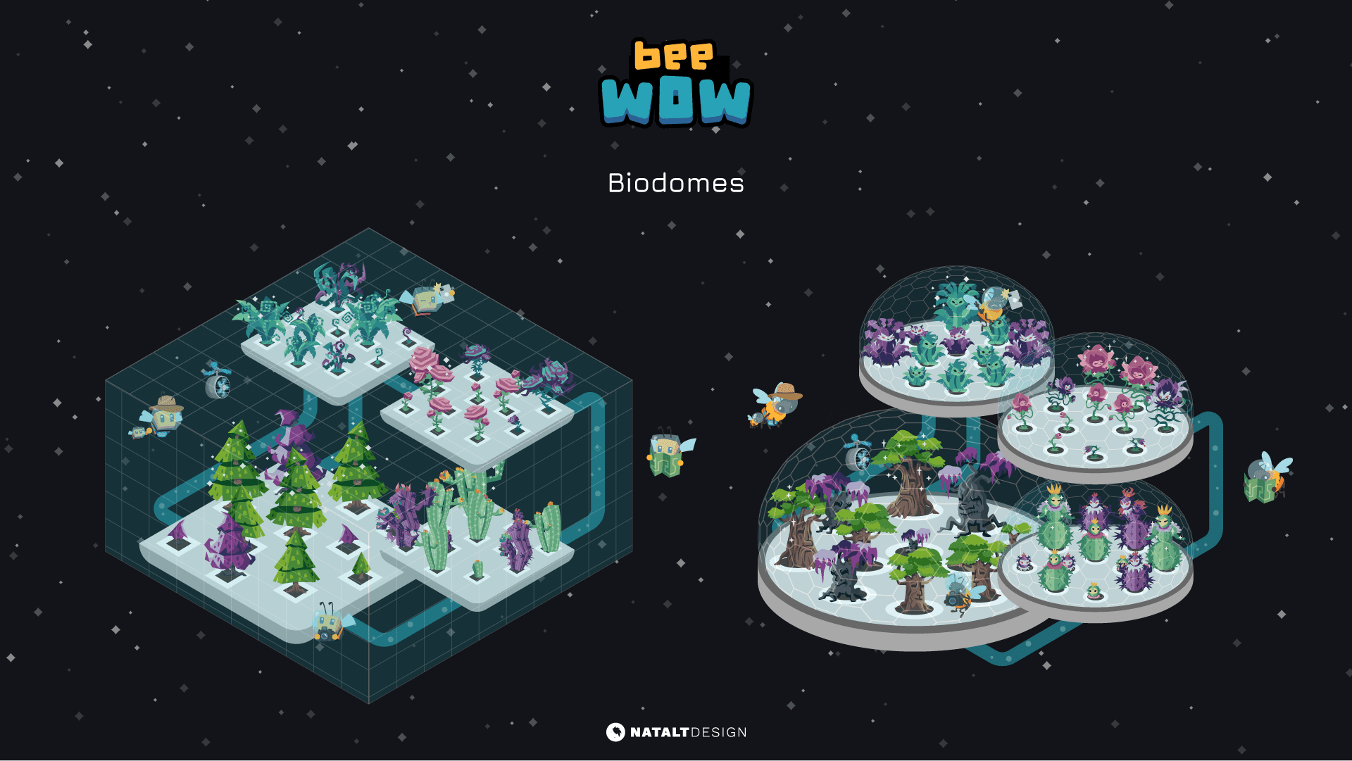 Bee Wow biodome design