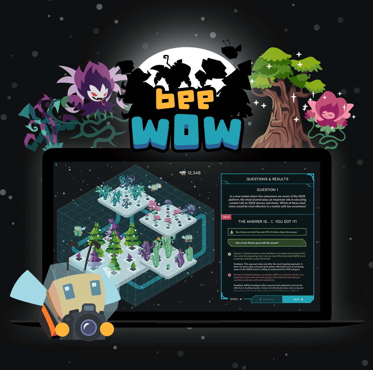 Bee Wow project image